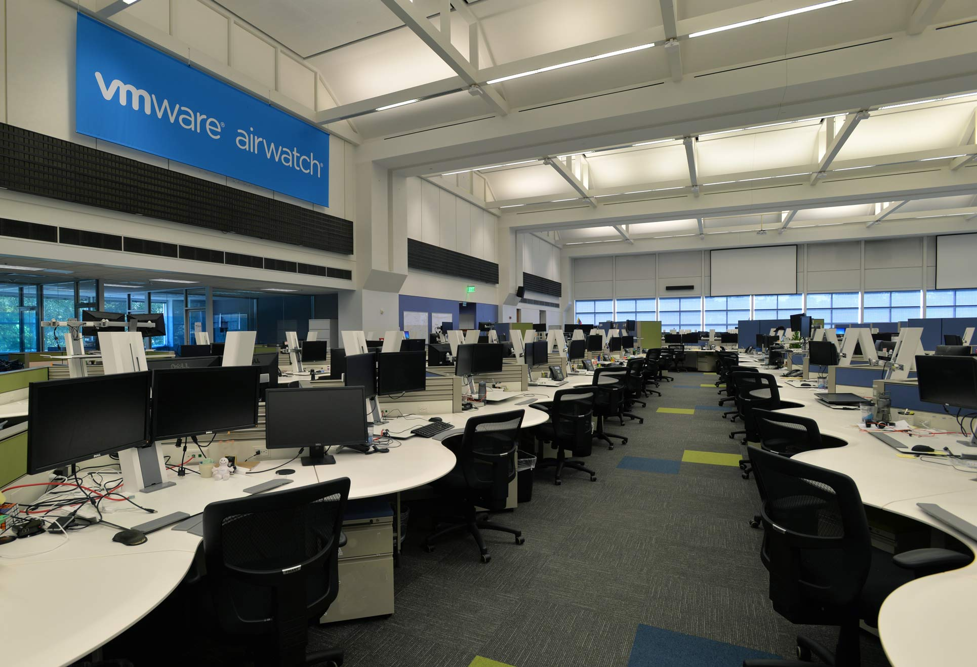 VMWare Airwatch Trade Floor
